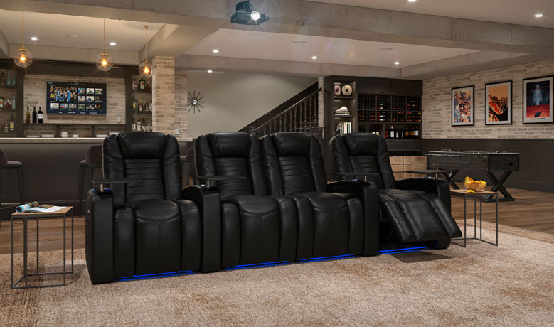 Octane Seating High Performance, Home Theater Couch Living Room Furniture
